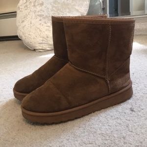 Primark fall fuzzy booties